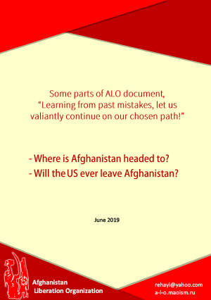 Some parts of ALO document, Learning from past mistakes, let us valiantly continue on our chosen path! - June 2019